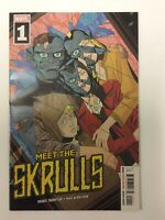 Meet the Skrulls #1  VF+ Disney + 1st appearance of The Warners Marvel Comics