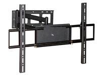 "Adjustable Corner TV Wall Mount Bracket LCD LED 37 40 42 46 50 55 60 63 65 70"""