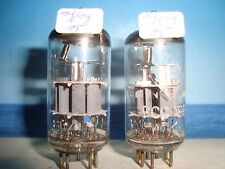 PCC189 Telefunken #    # ( E88CC , CCa ) # Matched and balanced Pair # NOS (432)