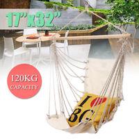 32''x17'' Hanging Hammock Chair Swing Outdoor Indoor Garden Camping  ! 1