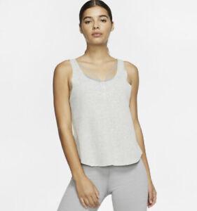 Nike Women's Dri-Fit  YOGA LUXE TANK Sz. M NEW CJ4205-050.