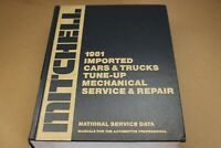 1981 MITCHELL Imported Cars & Trucks Tune-up Mechanical Service & Repair Manual