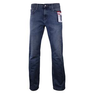 Levi Strauss Men's Blue Relaxed Premium Flex Denim Jeans (S61)