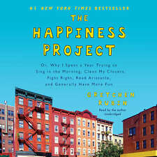 The Happiness Project by Gretchen Rubin 2015 Unabridged CD 9781504637800