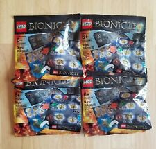 (LOT OF 4) LEGO Bionicle #5002941 - HERO PACK Polybags - Brand New & Retired!!!