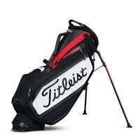 NEW 2017 Titleist Golf Staff Stand Bag TB7SXSF-061 Black Red White Premium Bag