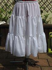 Weiß Petticoat Größe 18/20