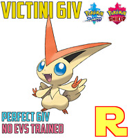 6IV EVENT VICTINI ⚔️🛡 SWORD & SHIELD ⚔️🛡 Legit & Perfect