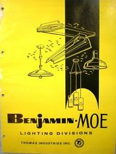 Thomas Industries Benjamin Moe Lighting Catalog ASBESTOS Wire '62 Army Navy Spec