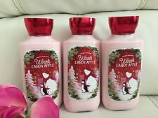 NEW BATH & BODY WORKS WINTER CANDY APPLE  Body Lotion Full Size Free Shipping