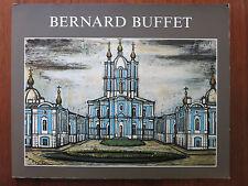 Bernard BUFFET - Ausstellungskatalog 1992 Stadtansichten Vues de St. Petersbourg