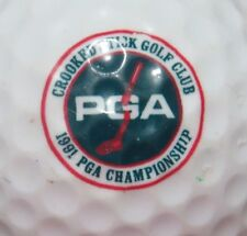 1991 PGA CHAMPIONSHIP @ CROOKED STICK RARE PGA & TOURNAMENT LOGO GOLF BALL