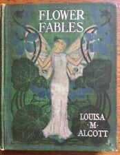 SCARCE! Flower Fables, by Louisa M. Alcott, Hardcover, 1854