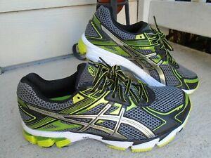 Asics GT-1000 Gel Speva  Mens Size 10  4 E Running Shoes Green Black