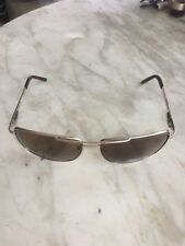 KENNETH COLE Reaction KC1076-0772 men's aviator silver/brown lenses sunglasses