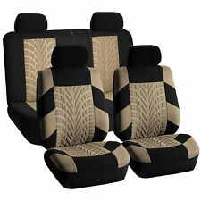 Car Seat Covers Complete Set Beige Top Quality for Car SUV Truck