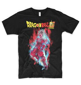 Dragon Ball Super T Shirt Goku Super Saiyan Blue God Kaioken x100 Ultra Instinct