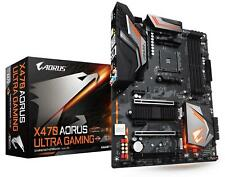 GIGABYTE X470 Aorus Ultra Gaming AMD Socket AM4 4x DDR4 AMD X470 ATX 4x USB 3.0