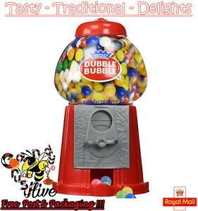 Gumball Vending Machine Gum Dispenser Toy Coin Bank 80g Bubble Gum Included Bulk