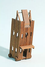 Belagerungs Turm aus Holz - Richard Zeumer um 1930- für  umHeyde Zinnfiguren  oä