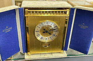 "Zz Jaeger LeCoultre ATMOS Uhr ""Trianon"" mit Originaltabernakel"