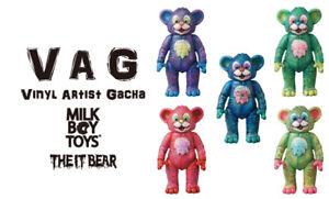 MEDICOM VAG Series 13 Milk Boys Toys IT Bear VINYL ARTIST GACHA Full set
