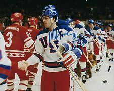 GFA 1980 Miracle on Ice Captain * MIKE ERUZIONE * Signed 8x10 Photo M1 COA