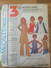 Vintage MccALL'S sewing pattern size 12,14,16 (5622)