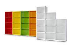 Clic Regal M 144cm Bücherregal 3 Höhen 9 Farben werkzeuglose Montage Clic System