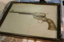 Colt Saa single action army revolver pictures letter from factory 1940