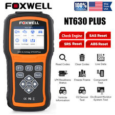 ABS SRS Airbag Reset Foxwell NT630 PLUS Car Code Reader Engine OBD2 Scanner Tool