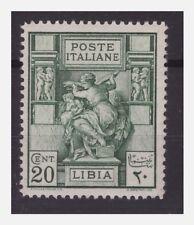 LIBIA  1924 - SIBILLA   CENTESIMI 20  DENT. 14   NUOVO   **
