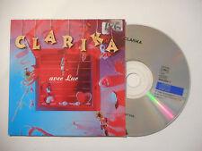 CLARIKA : AVEC LUC ♦ CD SINGLE PORT GRATUIT ♦