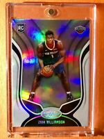 Zion Williamson PANINI CERTIFIED ROOKIE CARD HOLOFOIL FINISH 2019-20 RC - Mint!