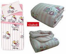 Trapunta, piumone invernale. GABEL, HELLO KITTY LITTLE FRIENDS Singolo, 1 piazza