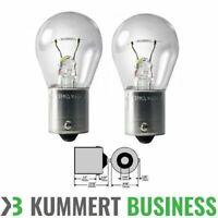 2x BA15S 2 Stück 12V 21W BA15s Bremslicht, Glühlampe, Birne, Lampe Set