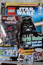 MAGAZINE LEGO STAR WARS + mini figure PROBE DROID, 10/2016, LIMITED