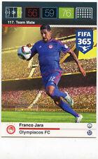 Panini Adrenalyn XL FIFA 365 2015 #117 Franco Jara Olympiakos FC