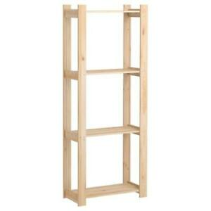 IKEA Pine Shelf Sideboard Cabinet Wall Unit 64x28x159cm Softwood Partition