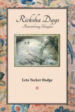 Ricksha Days (Paperback or Softback)