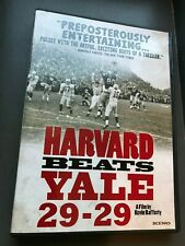 HARVARD BEATS YALE 29-29 DVD History Documentary Film College Football NFL