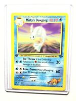 MISTY'S DEWGONG - 1st Edition Gym Challenge - 54/132 - Uncommon - Pokemon - NM