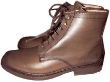 Frye James Lug Lace Up Boot Short  Ankle Bootie Riding Combat Flat Shoe  6 -36