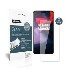 2x OnePlus 6 protector de pantalla vidrio flexible cristal proteccion 9h Dipos
