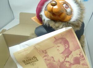 Raikes Original Robin Raccoon 660331 Limited Edition Boxed with COA 1989