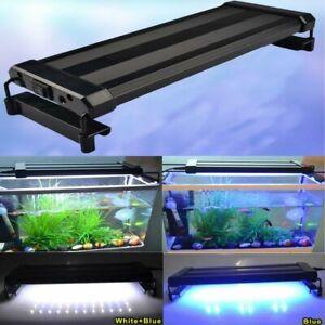 28-116cm Aquarium LED Lighting Full Spectrum Marine Fish Tank Lights Over-Head