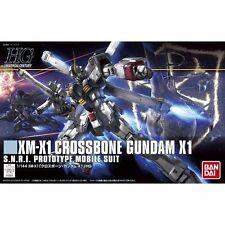 Bandai Hguc 1/144 Xm-X1 Crossbone Gundam X-1 Plastic Model Kit from Japan