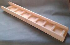 KILN PINE WOOD 70cm x 14cm RAMP/LADDER + SIDES FOR C&C CORREX CAGE GUINEA PIG