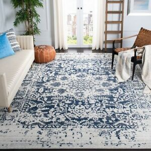 Traditional Distressed Area Rug Large Rugs for Living Room
