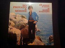 MARIO SCRIVANO HO PROVATO A MORIRE Rare 1969 Italy Kansas Beat LP Great Copy